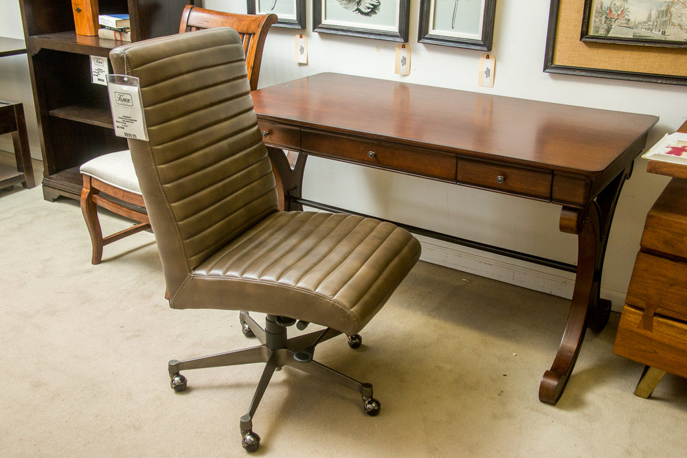 Liberty Writing Desk and Flexsteel Office Chair