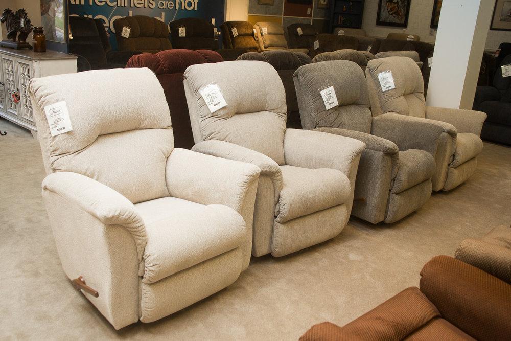 """""""Gabe"""" Lazboy chairs"""