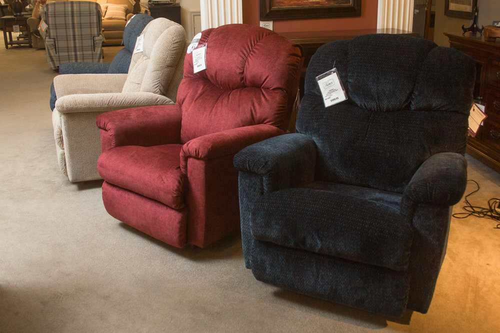 """Lancer"" Power Reclining Chairs from Lazboy"