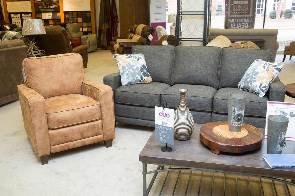 Lazboy DUO Mckenna Reclining Sofa