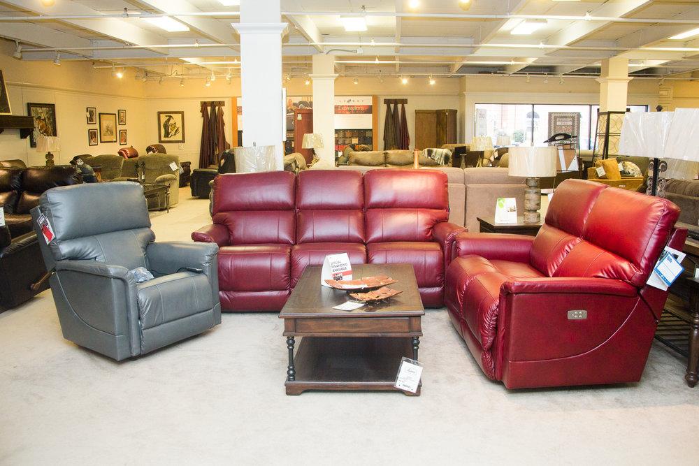 Lazboy Oscar Reclining Living Room Suite