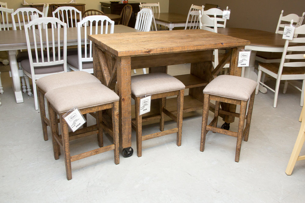 Liberty Counter Height Table with 4 stools