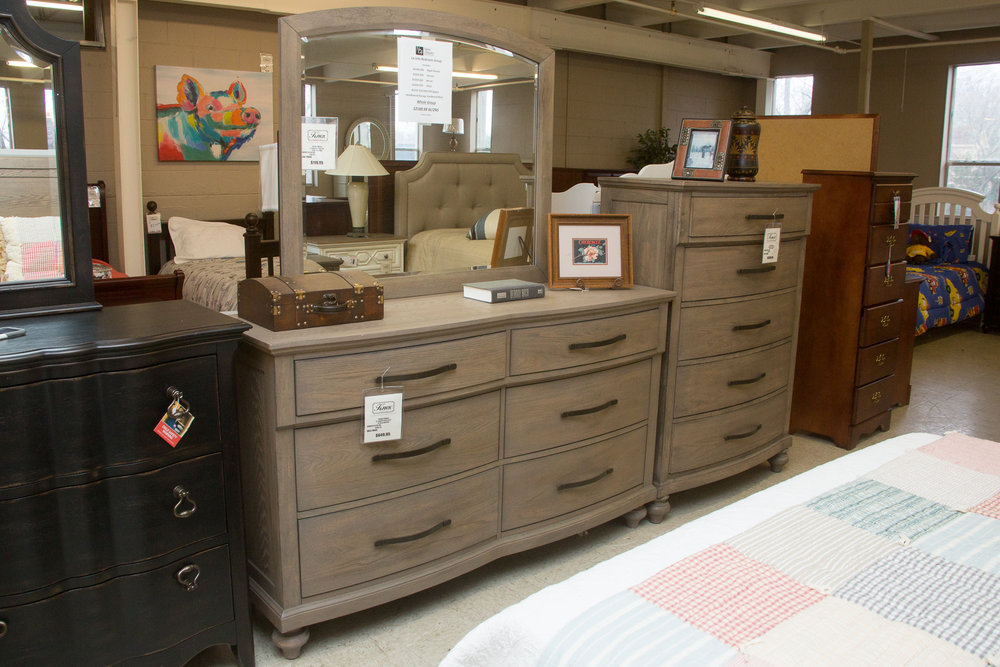 New Classic Bedroom Suite - Dresser and Chest of Drawers