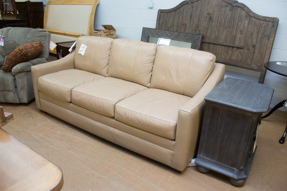 Craftmaster Leather Sofa