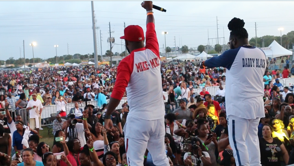 Mike Mike and Daddy Black Performing LIVE at Pepsi Funk Fest 2016