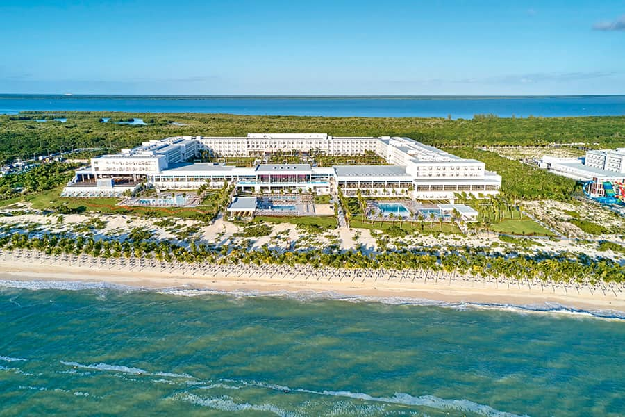 Grand Prize Honeymoon - courtesy of Middleton TravelIncludes round trip airfare for two and 3 night accommodations at the all-inclusive Riu Palace Costa Mujeres.