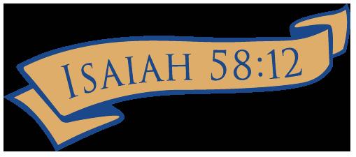 isaiah 58:12 banner