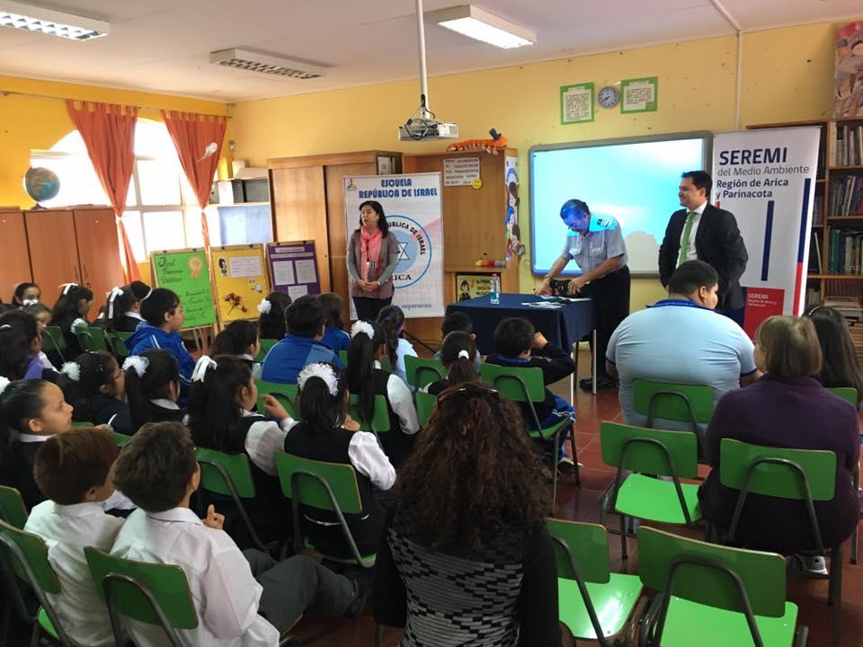 Escuela D-4 Republica de Israel
