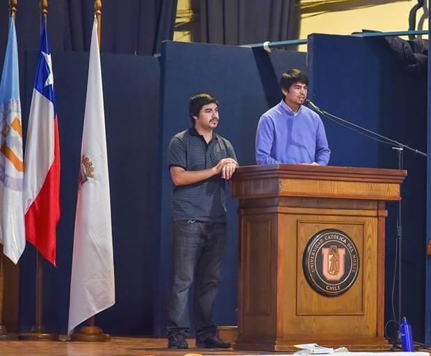 Bastian Villalobos and Cristobal Silva, Algalita YOuth Summit Graduates