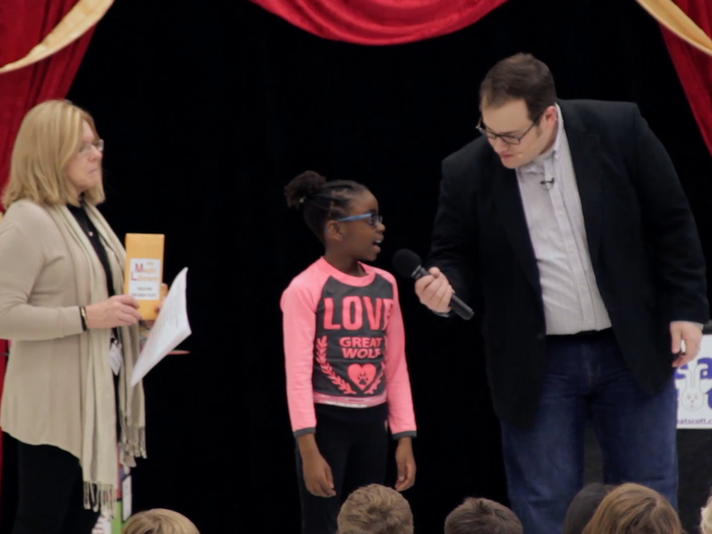 A simple magic trick helps students dive into the world of non-fiction books
