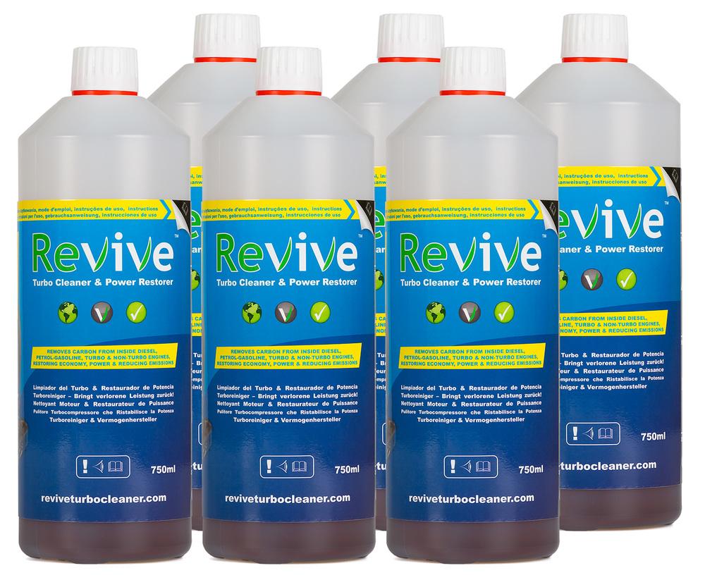 6 Pack Revive Refill Bottles
