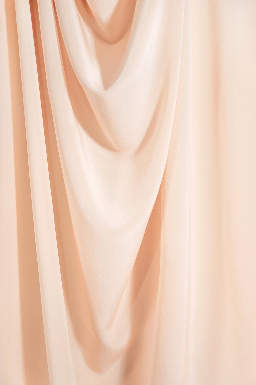 White is a Nude Coloured Curtain