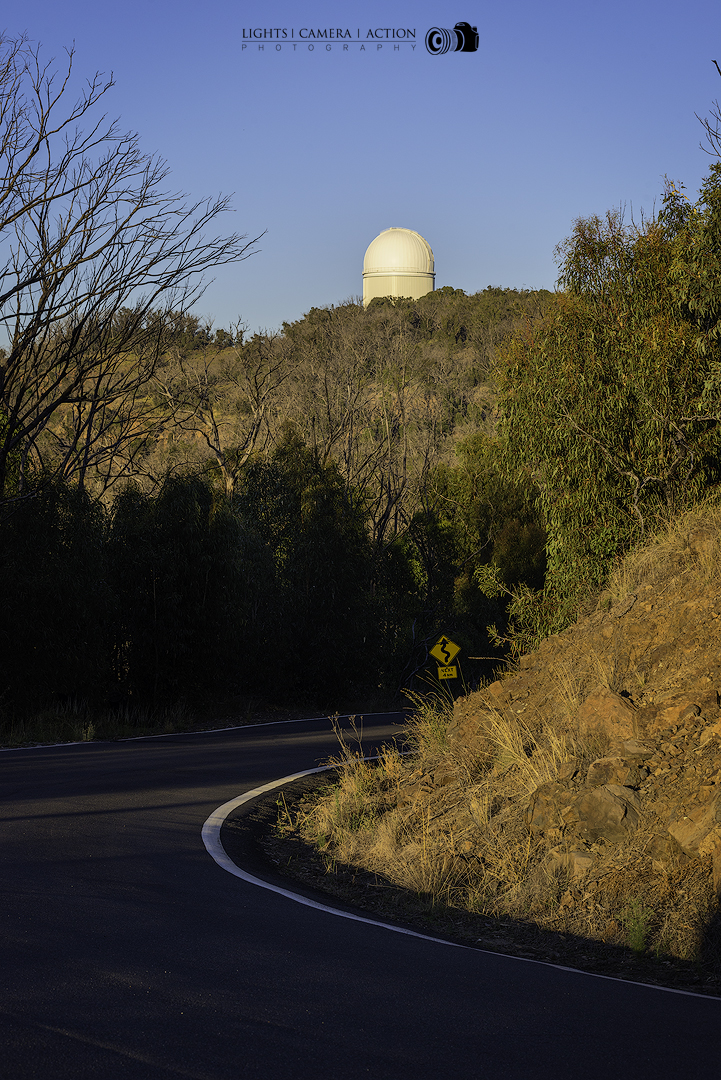 On way to the Siding Spring Observatory