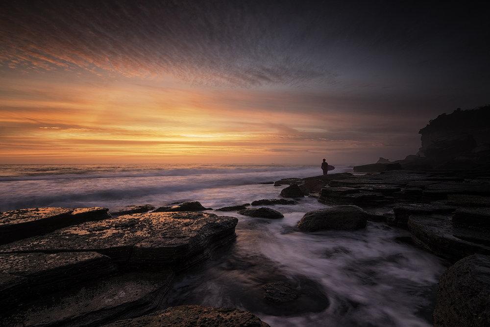 Sea - Lone surfer in Avalon copy.jpg