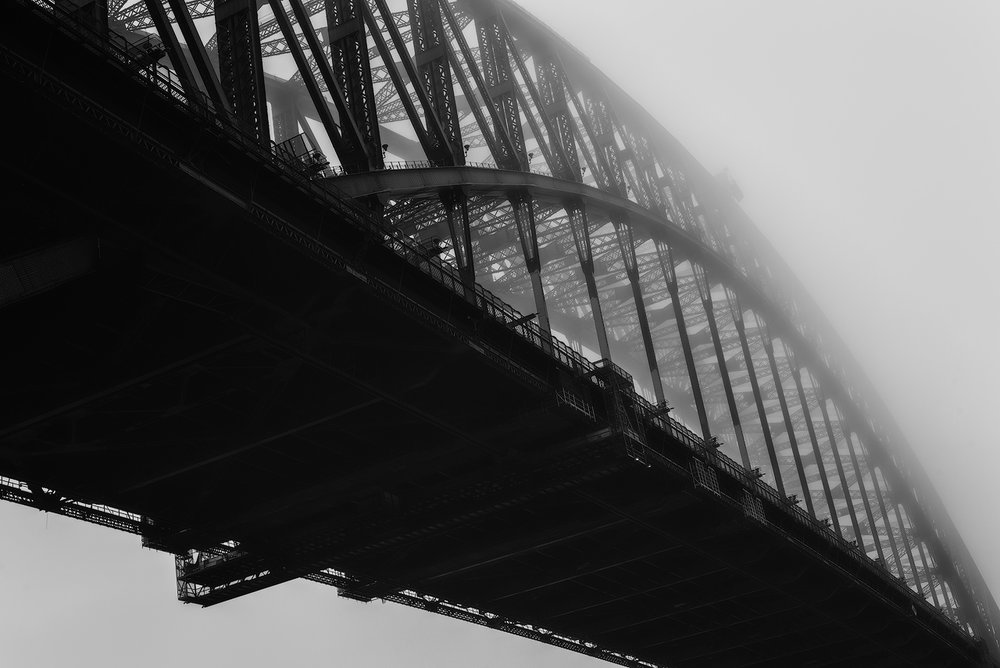 Sydney Harbour Bridge (western face)