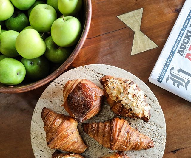 Start you day the Ortolana way. Fresh pastries, great coffee and a sundrenched setting. #freshpastries #freshstart #Hipgrouplife #SeasonalProduce #OrtolanaNZ #BritomartNZ