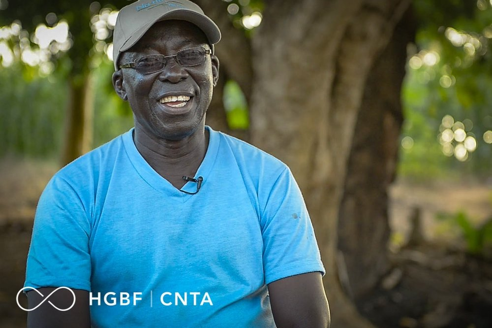 """It is my dream that the whole of Africa will know how to sustain the productivity of a piece of land.""     -Kofi Boa"