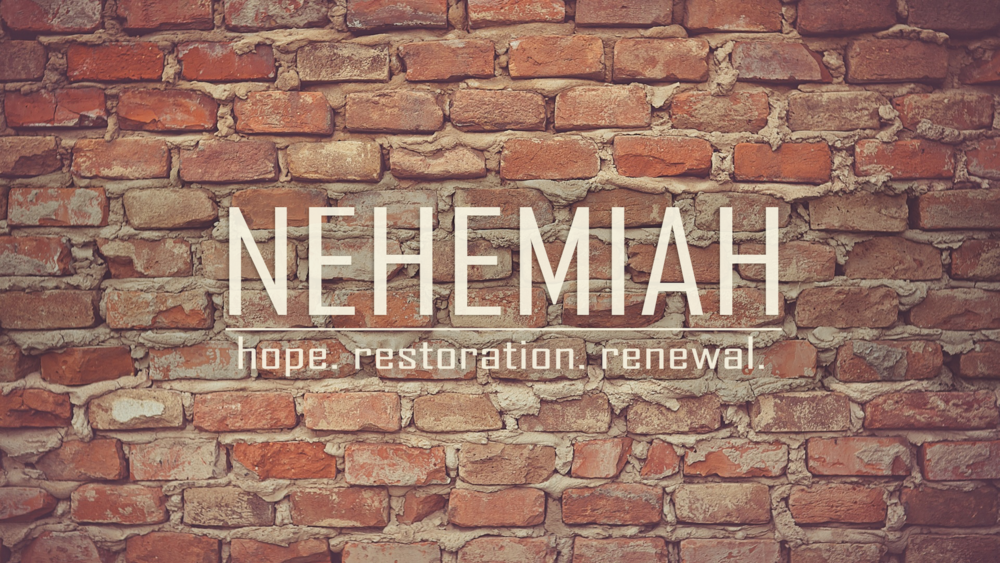 Nehemiah: Hope. Restoration. Renewal (2016)