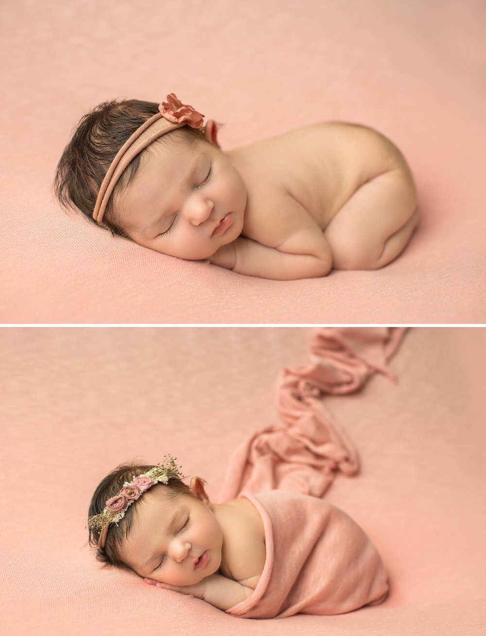classic newborn portrait in Los Angeles