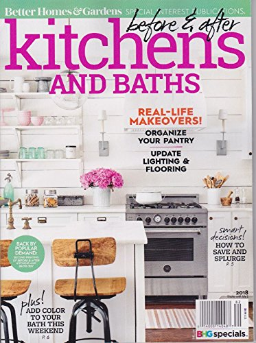 Our Kitchen was featured on the cover of BH&G!