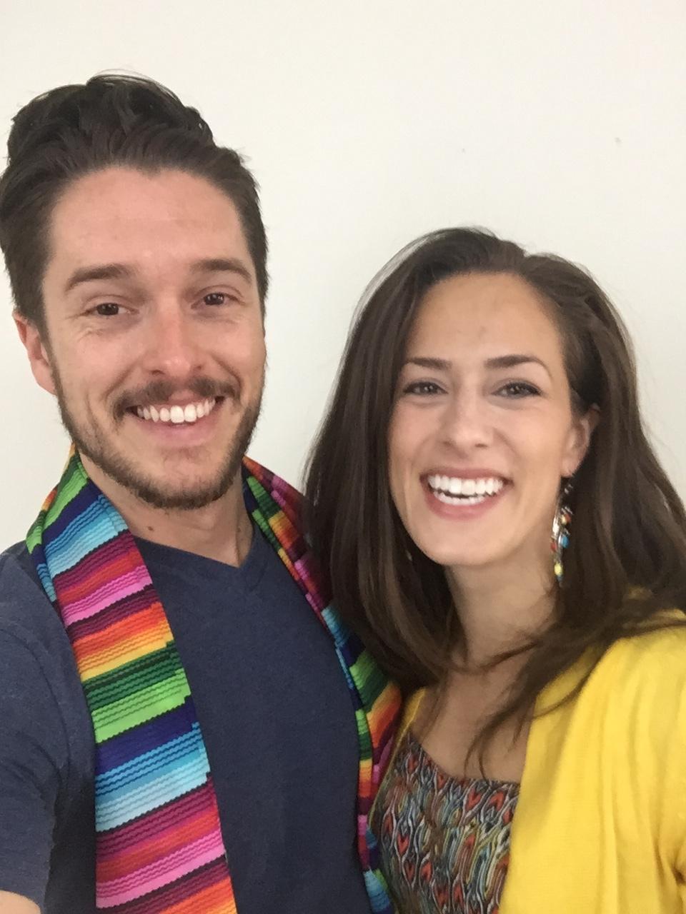 Your hosts, Jonathan & Sydney