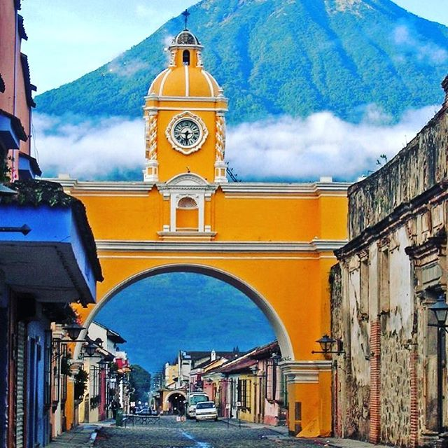 There are certain places on the planet the take my breath away.  Antigua Guatemala is one of them.  This Spanish Colonial gem has cobblestone streets that guide you through a wonderful world of Mayan heritage.  Colorful, vibrant, urban and inspiring.  Put this place on your travel list!  #travel #traveler #travelblogger #gaytravel #gayguate #gaygt #gayguatemala #guatemala #gaymale #antigua #colonial #travelmore #destinations #volcano