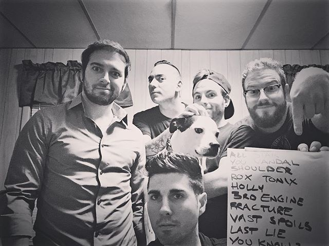 Through. Being. Cool.  #SavesTheDay tribute set Tomorrow night @blackforgepgh with @lifeisshortpa starring as #NewFoundGlory and The Ghostwrite as #DashboardConfessional. Dog not included.