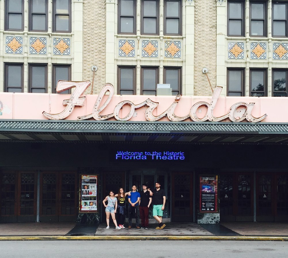 Brad and the touring cast of  The Lion, The Witch, and The Wardrobe  at the Florida Theatre.  (2015 - Jacksonville, FL)