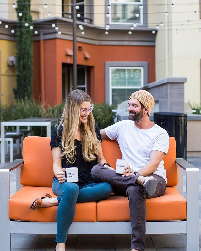 F A C T: Couples who chai together...stay together! 🙌🏽 Tag your partner in the comment section below and remind them it's chai time! ☕️ ❤️ @meg__christine 📸
