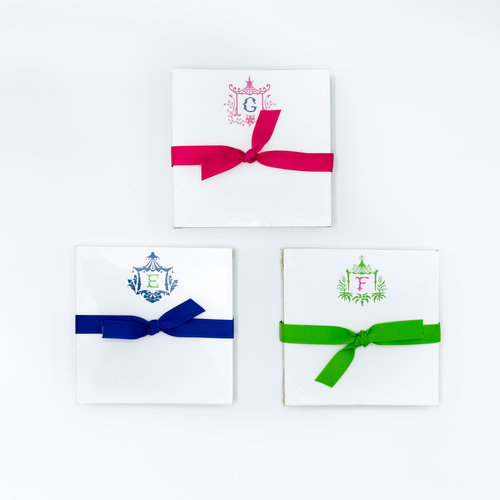 pagoda initial notepads st michael s woman s exchange