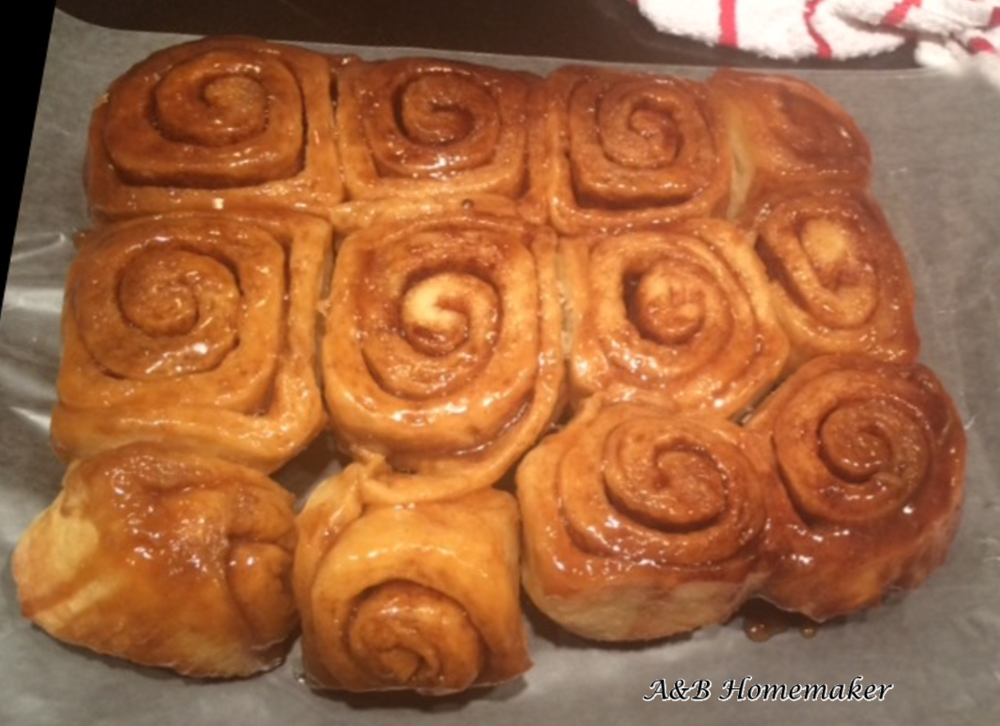 Sweet & Stickey Cinnamon Rolls
