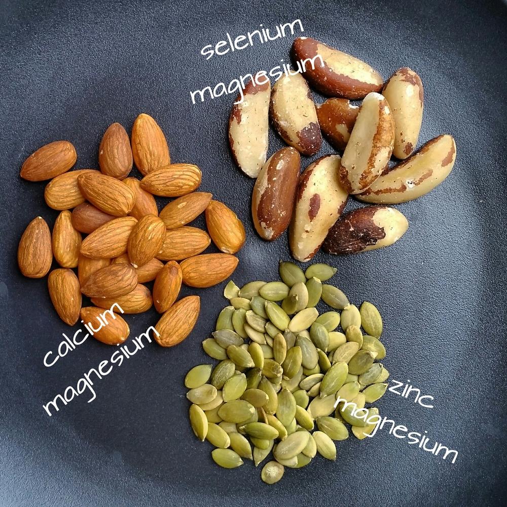 Sante Wellness nuts seeds minerals magensium zinc