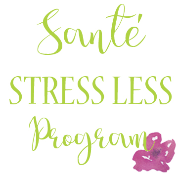 sante wellness stress less