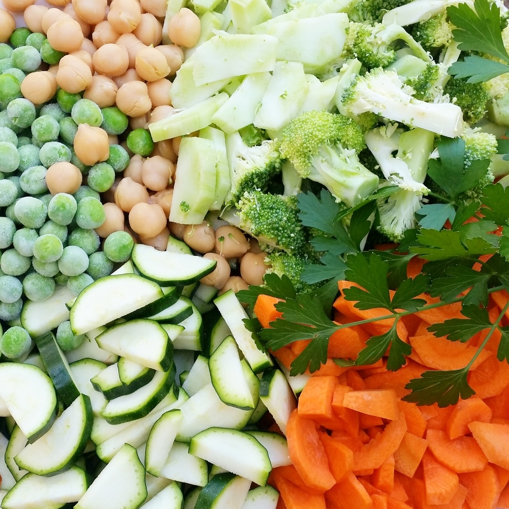 vegetables whole food