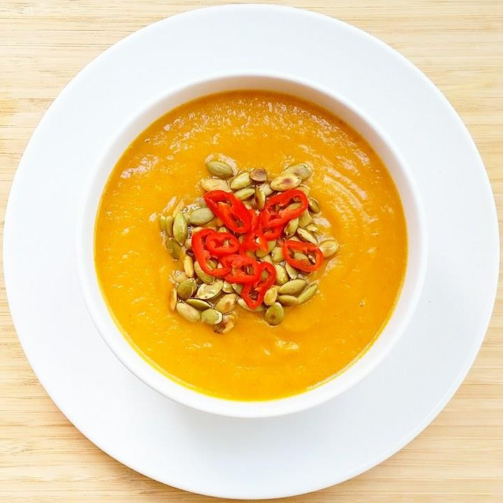 THai pumpkin soup sante wellness
