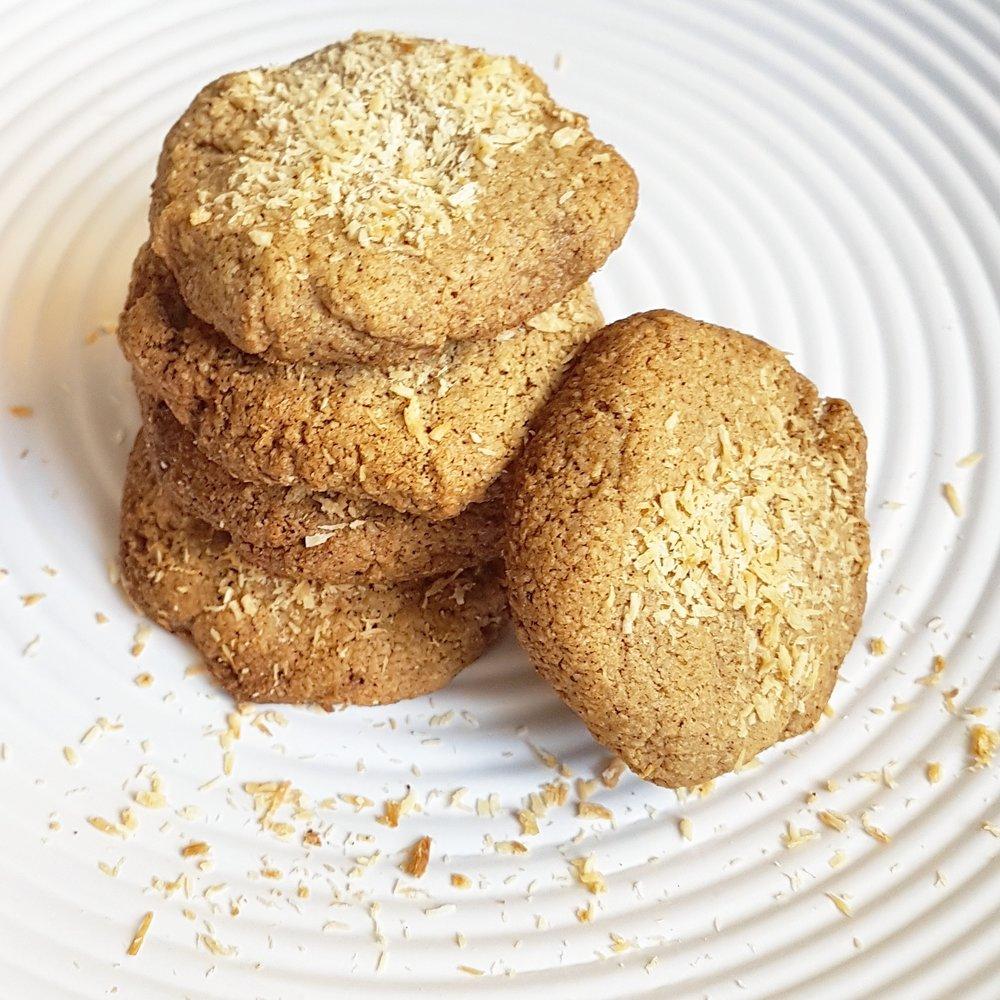 Healthy Ginger Oat Cookies