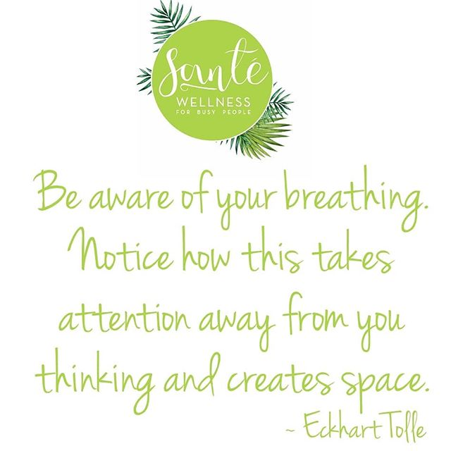 Just breathe into the weekend 🙏
