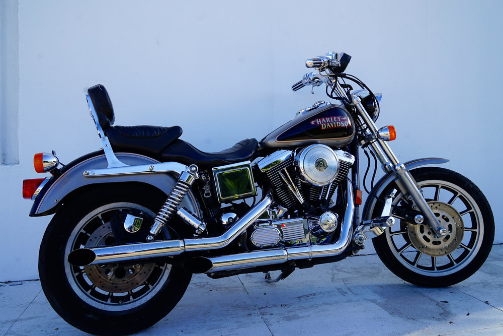 1997 Harley Fxds Convertible - $7200  One owner.. Well kept.. Tons of chrome . Right side gas tank has little touch up.. Owner hit it with a weed whacker.. Other than that is is perfect.. Have convertible bags not shown.. 52k miles .. Really solid bike.. Runs and rides great..  $7,200 obo.