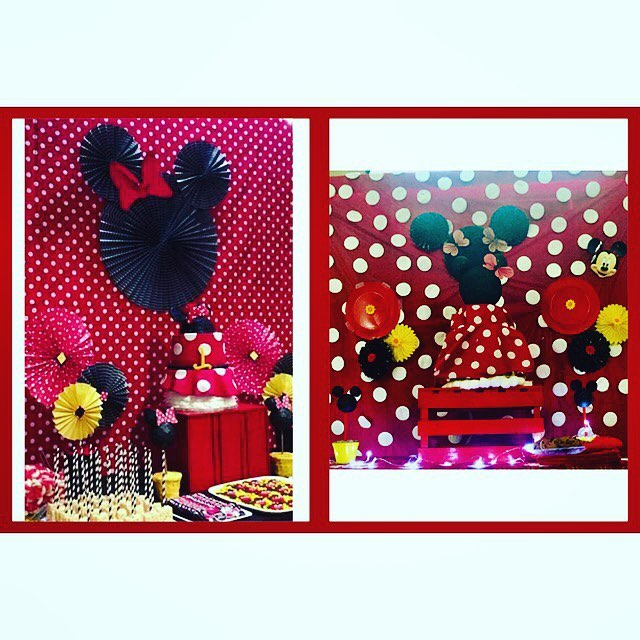 #Nailedit #Pinterest #DIY #notaPinterestfail #MickeyMouse #EventPlanner #lovewhatIdo #DowhatILove #partyplanner  Pinterest pic on the left in the collage frame for comparison..All other pictures are my DIY's.