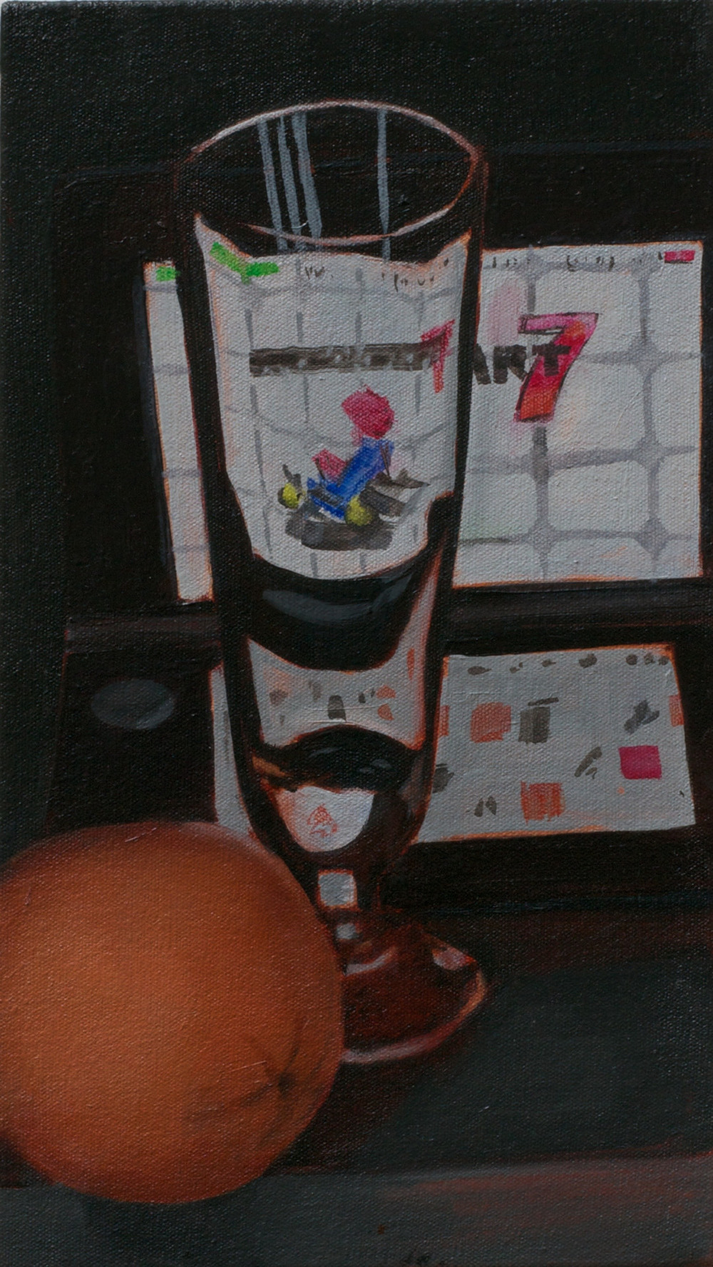 """3DS Still-life 2015 8.5""""x16"""""""