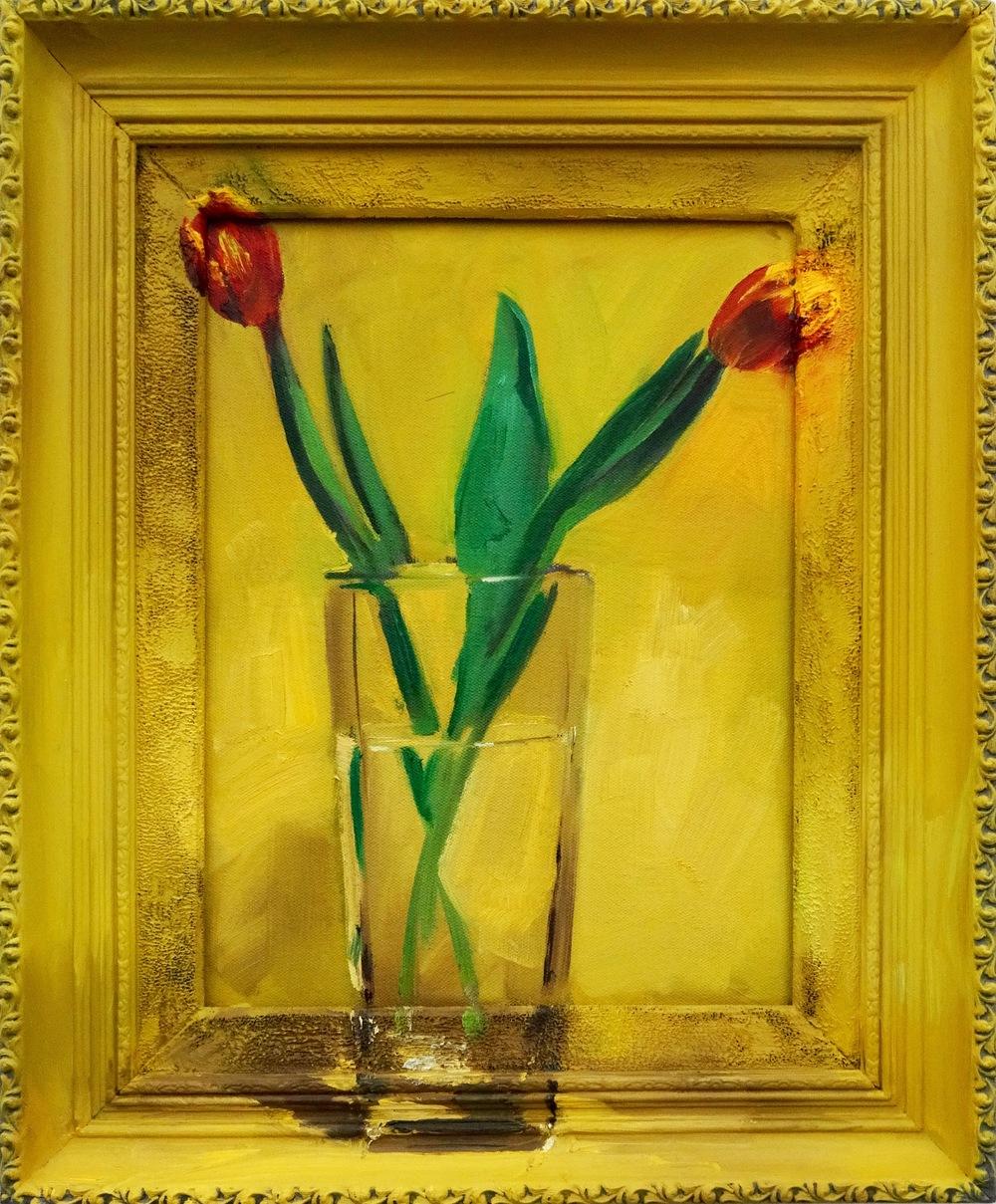 "Tulips for Scalia 2016 15""x18"""