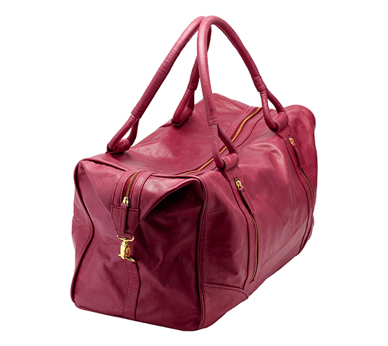 500 Ruben Overnight Bag Raspberry angle hi res.jpg