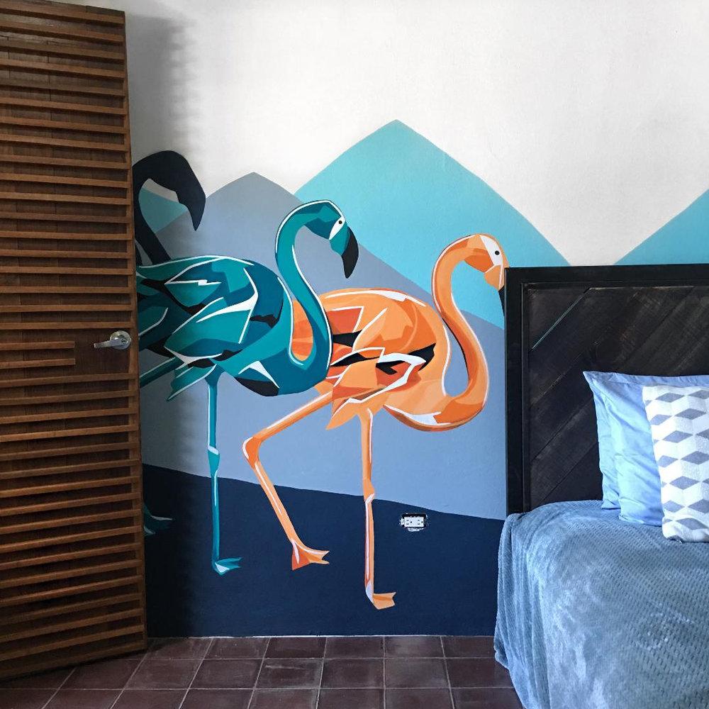 Cloud 9 Room 3 flamingoes.jpg