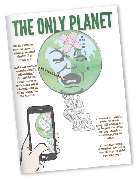 The Only Planet eBook   For ages 11+   *Guide only