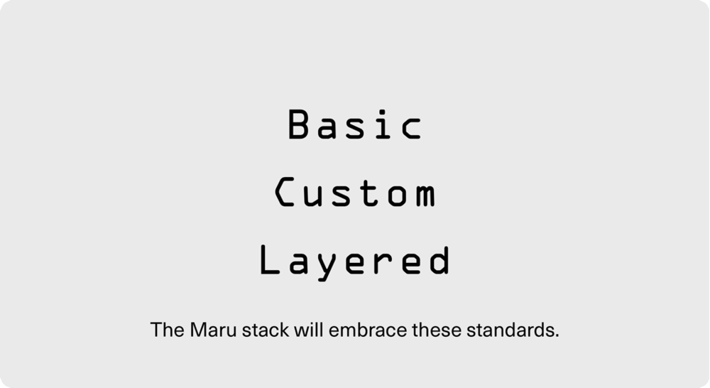DEVELOP PLATFORM   To embrace these standards, Chain of Things is developing 'Maru' - a full stack hardware, software, and blockchain based platform that will establish strong qualities of device identity from birth as means to unlock true security and interoperability for the Internet of Things as it will establish a new level of trust in data.