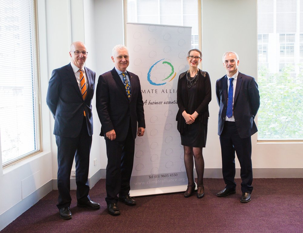 Ben Scheltus, Rob Gell, Sarah Barker and Dr Paul Fisher