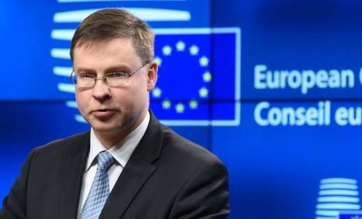 Vice-President of the EU Commission Valdis Dombrovskis