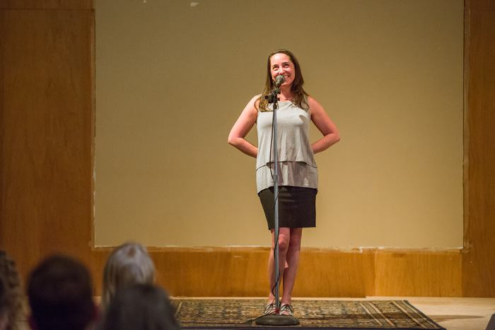 I'm Impulsive, Not Stupid - Shared at the Tell Us Something event in Helena, Montana, Sarah tells a story about finding her voice by singing with a rock band for the first time - at 40.