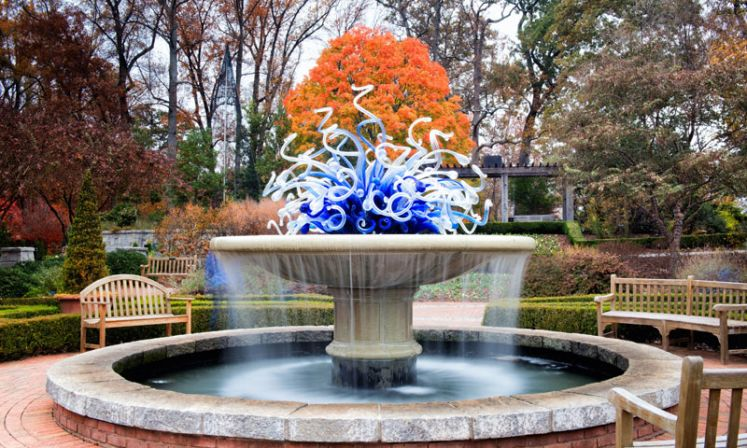 Chihuly Fountain - Atlanta Botanical Gardens