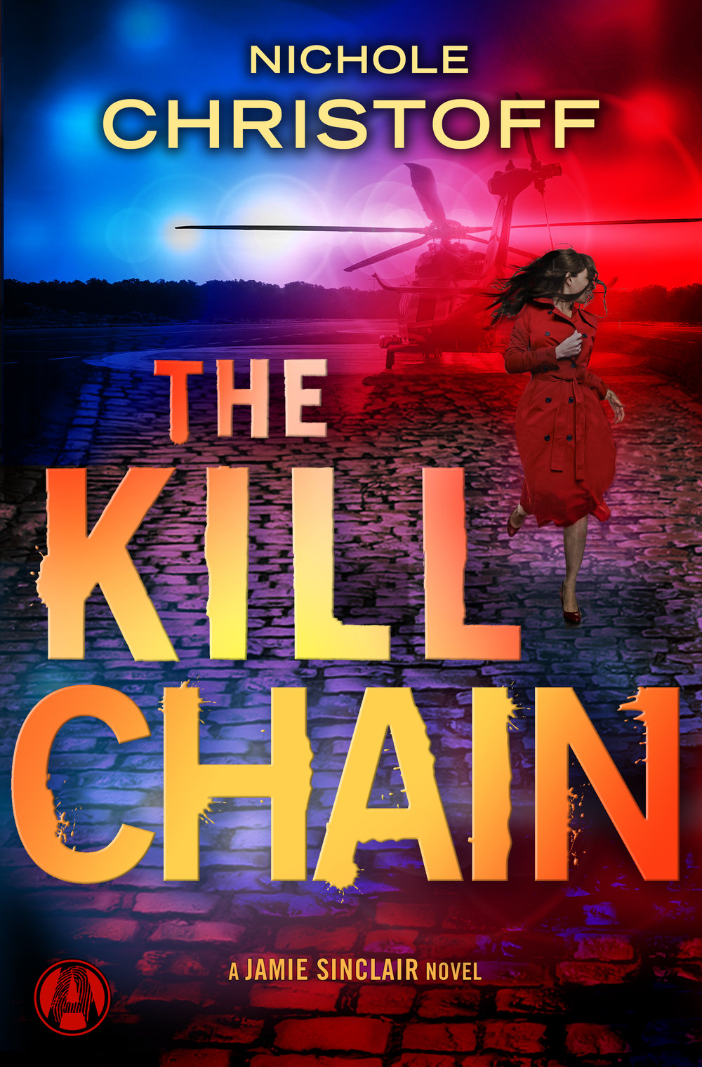 The Kill Chain - Security specialist and PI Jamie Sinclair shoots for the stars. Her enemies shoot to kill. Now, Jamie is on the run, framed for a murder she didn't commit. But the word quit isn't in Jamie's vocabulary.Catch up with Jamie in her 6th breakneck thriller, available now from Nichole Christoff and Random House Alibi.